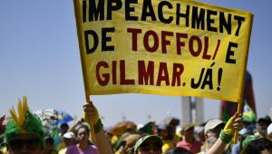 Brasília tem protesto tranquilo contra Toffoli e lei do abuso de autoridade