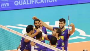 Brasil vence Egito em três sets e vai decidir vaga na olimpíada contra a Bulgária