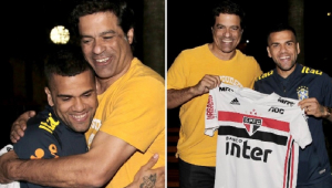 São Paulo se inspira na volta de Luís Fabiano e pretende apresentar Daniel Alves com festa da torcida no Morumbi