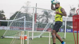 Gabigol desfalca Flamengo contra o Internacional pela Libertadores