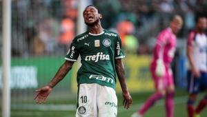 Palmeiras confirma lesão de Luiz Adriano; Atacante para por tempo indeterminado