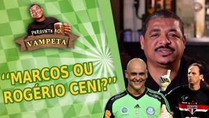 'Marcos ou Rogério Ceni?' Vampeta sacia curiosidades de internautas