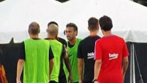 O mundo dá voltas! Peça-chave em negociação com PSG, português do Barça já brigou com Neymar em treino