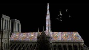 Brasileiro faz sucesso com projeto de reconstrução de Notre-Dame em vitrais