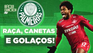 Vai brilhar no Palmeiras? Veja como Luiz Adriano estava jogando na Rússia