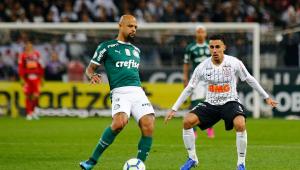 Aproveitamento do Corinthians no Brasileirão é mais do que o dobro do Palmeiras pós-Copa América