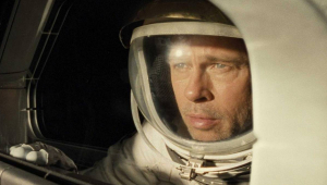 Astronauta no cinema, Brad Pitt conversa por vídeo com tripulante da Estação Espacial