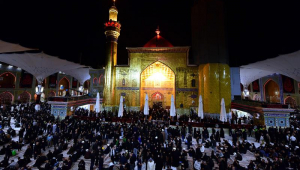 Ashura em Karbala no Iraque
