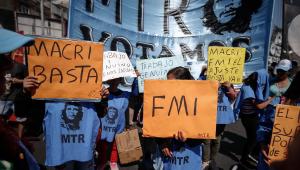 Argentina protesta contra acordo com FMI