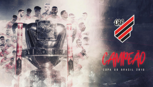 Athletico-PR vence Inter de novo e é campeão da Copa do Brasil