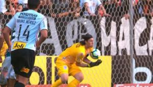 Cássio 'franga', e Corinthians perde para o Fluminense em Brasília