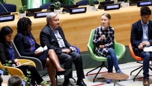 Greta e jovens ativistas pedem na ONU ações efetivas contra mudança climática