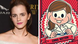 Emma Watson vira personagem da 'Turma da Mônica' em projeto da HQ