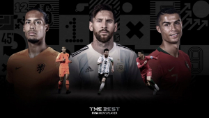 Messi e CR7 disputam hegemonia na premiação da Fifa; Van Dijk está na briga