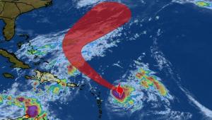 Furacão Jerry perde força e é rebaixado à tempestade tropical