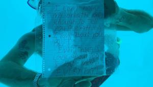 Vídeo: Homem morre afogado ao fazer pedido de casamento debaixo d'água