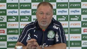 Mano exalta 1º turno do Palmeiras e acha 'possível' manter caça ao líder Flamengo