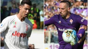 No duelo CR7 x Ribéry, Juventus é 'assombrada' por lesões e só empata com a Fiorentina