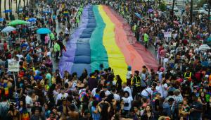 RJ: Copacabana recebe 500 mil pessoas na Parada do Orgulho LGBTI