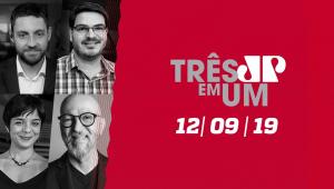 Paulo Guedes estuda reestruturação do Fisco - 3 em 1 - 12/09/2019