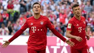 Coutinho marca pela 1ª vez e Bayern de Munique goleia Colônia