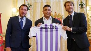 Dono do Valladolid, Ronaldo não se deixa abalar por suspeita de manipulação e melhora estrutura do clube
