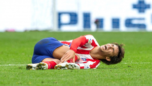 Atlético de Madrid perde João Félix por lesão e cede empate ao Valencia
