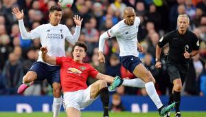 Liverpool busca empate no fim contra o Manchester United e segue invicto