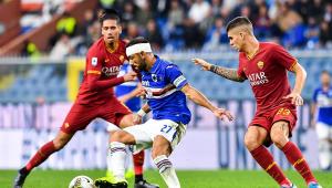 Italiano: Roma e Sampdoria ficam no 0 a 0; Cagliari bate o SPAL