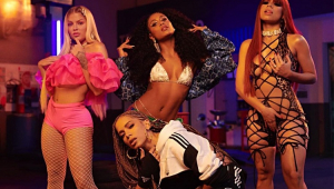 Se prepara que vem hit: Anitta, Luísa Sonza, Lexa e MC Rebecca gravam clipe juntas