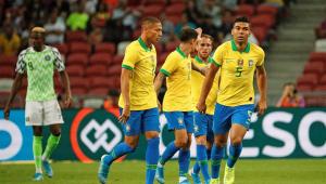 'O resultado não é favorável, mas a atuação foi boa', diz Casemiro, após empate com a Nigéria