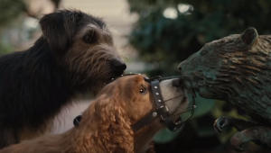 Lady vive primeiras aventuras em novo trailer de 'A Dama e o Vagabundo'