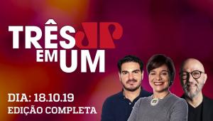 Delegado Waldir e Joice Hasselmann se dizem traídos por Jair Bolsonaro - 3 em 1 - 18/10/2019
