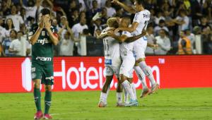 Santos vence o Palmeiras e rouba segunda colocação do Campeonato Brasileiro