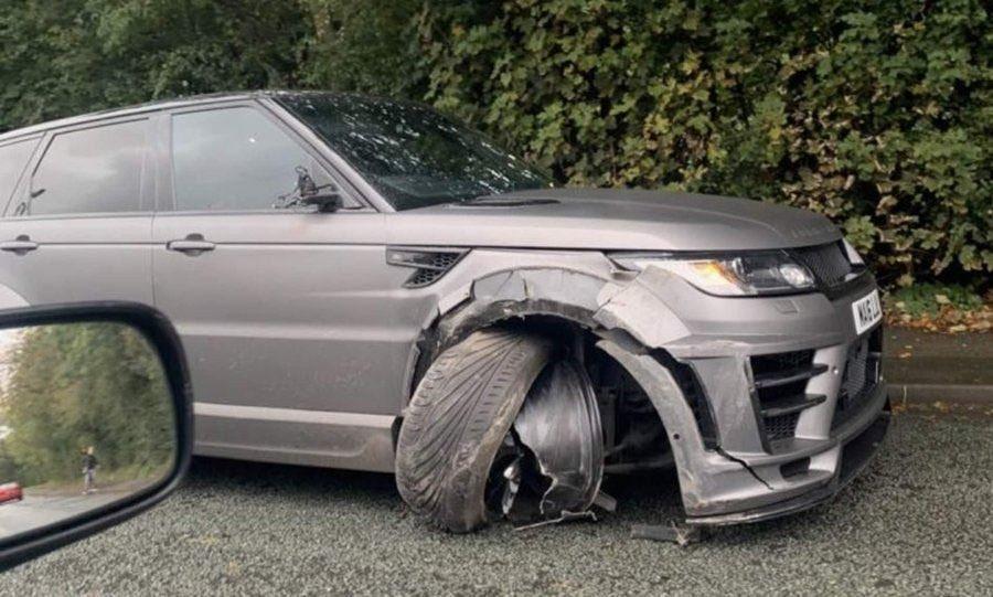 Aguero sofre acidente de carro antes de treino do Manchester City