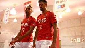 Brasileiros do Urawa Reds celebram vaga na final da Champions League da Ásia