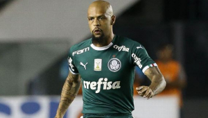 STJD vai analisar gestos obscenos de Felipe Melo para torcida do Santos