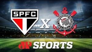 São PauloxCorinthians: acompanhe o jogo ao vivo na Jovem Pan