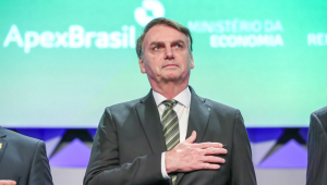 Jair Bolsonaro no Forum de Investimento