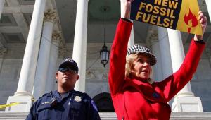Vídeo: Jane Fonda é presa em protesto contra o aquecimento global nos EUA