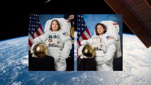 Primeira caminhada espacial feminina acontece nesta sexta-feira; acompanhe