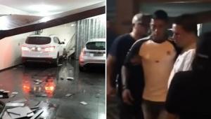 Volante Ralf, do Corinthians, se envolve em acidente de carro; B.O. diz que segurança estava 'visivelmente embriagado'