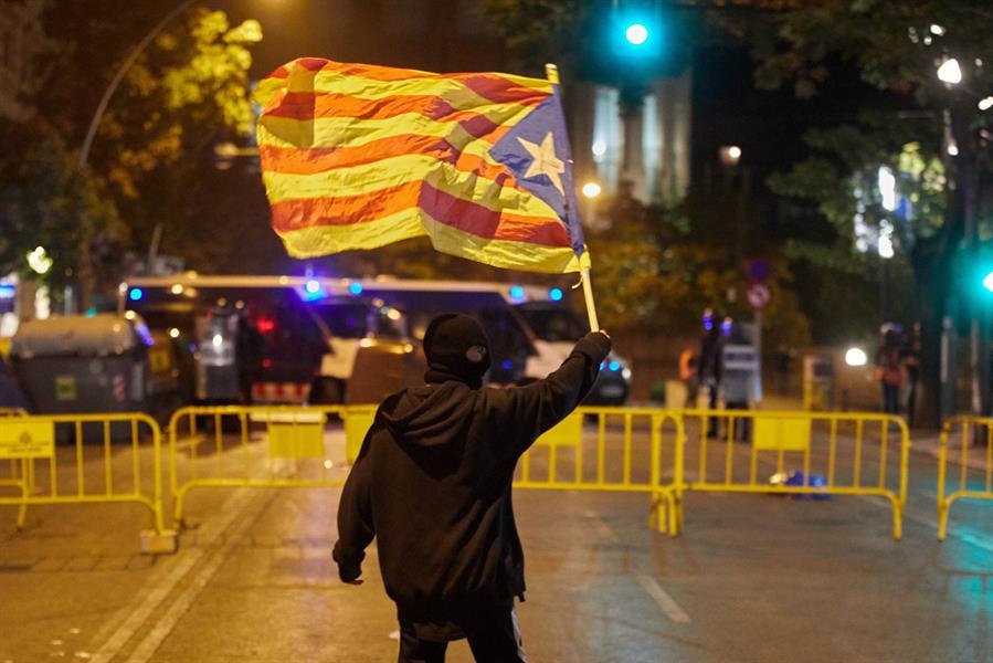 Protestos Catalunha
