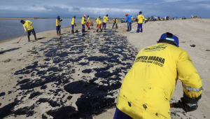 Mais de 525 toneladas de resíduos de óleo foram retirados do Nordeste