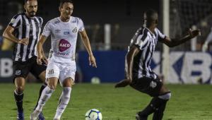 Thiago Galhardo relata atos racistas de torcedores do Santos a volante do Ceará
