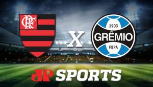 FlamengoxGrêmio: acompanhe o jogo ao vivo na Jovem Pan