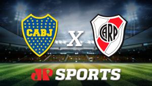 Boca Juniors x River Plate:acompanhe o jogo ao vivo na Jovem Pan