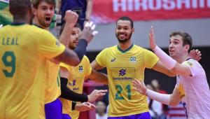 Imbatível? Brasil vence os EUA e dispara na liderança da Copa do Mundo de vôlei